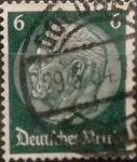 Sellos de Europa - Alemania -  Intercambio 0,20 usd 6 pf 1933