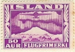 Stamps Europe - Iceland -  Aurora Boreal