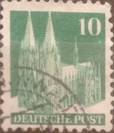 Stamps : Europe : Germany :  10 pf 1948