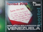 Stamps Venezuela -  Navidad 2006 - Cartica al Niño Jesus.