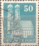 Sellos de Europa - Alemania -  Intercambio 0,20 usd 50 pf 1948