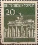 Sellos de Europa - Alemania -  Intercambio 0,20 usd 20 pf 1968