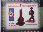 Stamps Venezuela -  Orlando Campos- Artista Plástico Venezolano