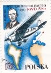 Stamps Poland -  Pionero de la aviación