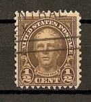 Stamps United States -  Nathan Hale.