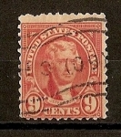 Stamps United States -  T. Jefferson.