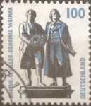 Stamps Germany -  Intercambio 0,40 usd 100 pf 1994