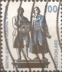 Stamps Germany -  Intercambio 0,40 usd 100 pf 1994
