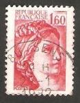 Stamps France -   2155 - Sabine de Gandon