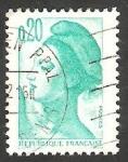 Stamps France -  2181 - Liberté de Gandon