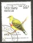 Sellos de Asia - Laos -  Ave