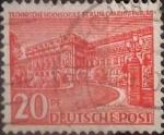 sello : Europa : Alemania : Intercambio mas 0,25 usd 0,20 pf 1949