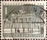 Stamps : Europe : Germany :  1 pf 1956