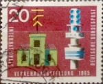 Sellos de Europa - Alemania -  Intercambio 0,20 usd 20 pf 1965