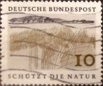 sello : Europa : Alemania : Intercambio mas 0,20 usd 10 pf 1969