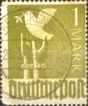 Sellos de Europa - Alemania -  Intercambio ma2s 0,30 usd 1 mark 1947