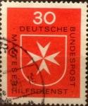 sello : Europa : Alemania : Intercambio mas 0,20 usd 30 pf 1969