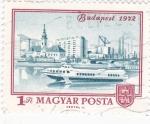 Stamps Hungary -  Panorámica de Budapest