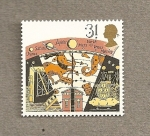 Stamps United Kingdom -  Astronomía