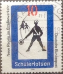 sello : Europa : Alemania : Intercambio mas 0,20 usd 10 pf 1971
