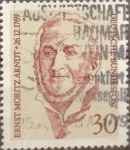 Stamps Germany -  Intercambio 0,20 usd 30 pf 1969