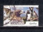 Sellos de America - México -  México conserva águilas