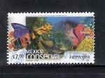 Sellos del Mundo : America : México : México conserva arrecifes