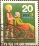 Sellos de Europa - Alemania -  Intercambio 0,20 usd 20 pf 1970