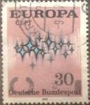 sello : Europa : Alemania : Intercambio mas 0,25 usd 30 pf 1972