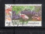 Sellos de America - México -  México conserva manglares