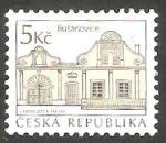 Stamps Czech Republic -  Casas de Busanovice