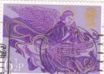 Stamps : Europe : United_Kingdom :  Angeles músicos