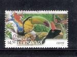 Sellos de America - México -  México conserva aves