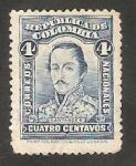 Stamps : America : Colombia :  245 - F. de P. Santander