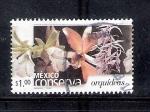 Sellos de America - México -  México conserva orquídeas