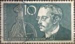 Stamps Germany -  Intercambio jxi 0,30 usd 10 pf 1958