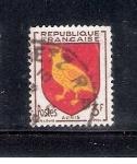 Sellos del Mundo : Europa : Francia :  Escudo de armas de la antigua provincia de Aunis