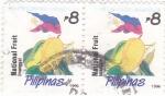 Sellos de Asia - Filipinas -  Fruta nacional -mango