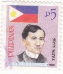Stamps Philippines -  josé Rizal