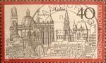 Stamps Germany -  Intercambio ma3s 0,20 usd 40 pf 1973