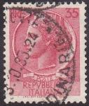 Stamps Italy -  efigie
