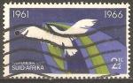 Stamps South Africa -  5th  ANIVERSARIO  DE  LA  REPÙBLICA.  PÀJARO  EN  VUELO,  SÌMBOLO  DE  LIBERTAD  Y  FUTURO.