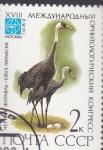Stamps : Europe : Russia :  grulla monacha