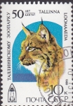 Stamps : Europe : Russia :  lince