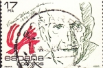 Stamps : Europe : Spain :  vicente alexandre