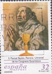Stamps Spain -  san pascual baylon