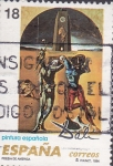 Stamps Spain -  poesia de america