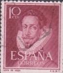 Stamps : Europe : Spain :  lope de vega