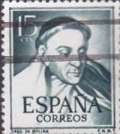 Stamps : Europe : Spain :  tirso de molina