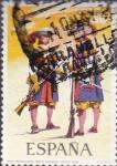 Stamps : Europe : Spain :  tercios de mosqueteros